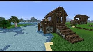 [Easy] Skyrim Lumbermill/Sawmill - Minecraft: Project Medieval #3 - Tutorial (Danish)