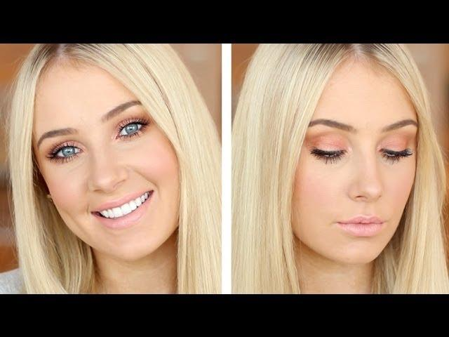 Peachy Summer Corals Makeup Tutorial!
