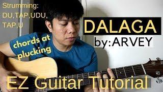 Arvey - DALAGA (Guitar Tutorial)