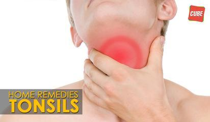 Home Remedy For Tonsils | Health Tips