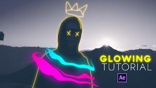 Animaciones Glowing After Effects Tutorial