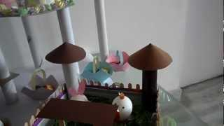 Happy Easter To All - Easter Craft Table For Kids