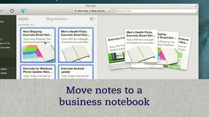 Tutorial Of Evernote Business - User