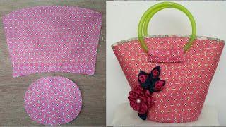 #DIY cute bags|tutorial from scratch|คลิปสั้น|รัชนี งานผ้า handmade