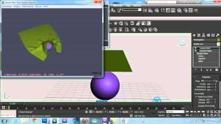 Animation Arabic Tutorial - Reactor ( Deforming Mesh - Soft Body - Cloth - Wind ) Lesson #20