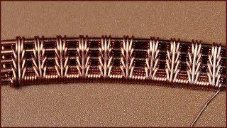 Wire wrap tutorial  Wire wrapped jewelry. Плетение украшений из проволоки в технике Wire Wrap.