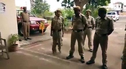 Funny Indian police video