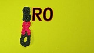 Rainbow Loom Brother (BRO) Charm Tutorial (DIY Mommy)