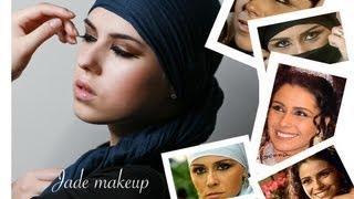 макияж Жади / Arabic Makeup TUTORIAL (ماكياج العيون العربية)