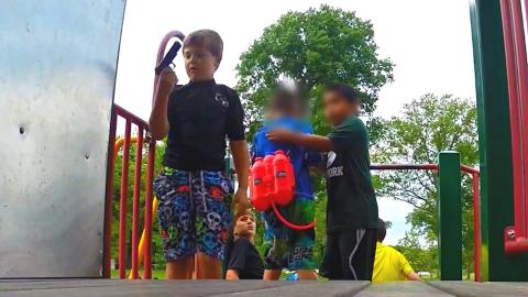 Kids with Guns Social Experiment