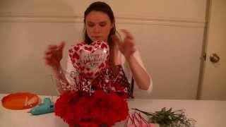 Dollar Tree Valentines Day Table Centerpiece Project Video