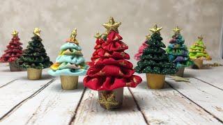 EASY DIY tutorial facilissimo how to make little Christmas tree
