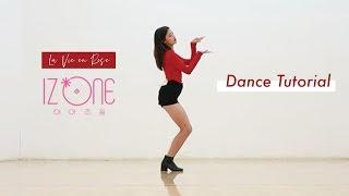 izone - La Vie en Rose Dance Tutorial Mirrored