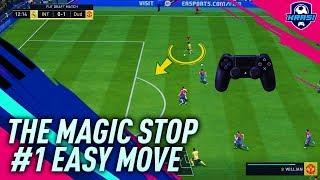 FIFA 19 THE MAGIC STOP TUTORIAL - HOW TO STOP & TURN LIKE A PRO! #1 EASY ATTACKING TRICK