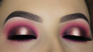 Berry Halo Smokey Eye Makeup Tutorial