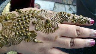 Best Arabic Henna:Modern Girlish Mehndi Pattern Design Application Tutorial