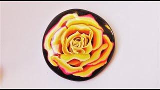 Complex Rose Cane in Polymer Clay Tutorial.