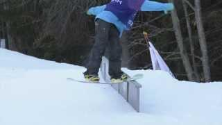 Borosport Promo Snow Park - Frontside Noseblunt 270 Out Tutorial