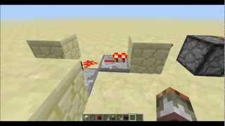 Minecraft Tutorial - BUD Switch, Ny&Gammel Metode [Dansk]