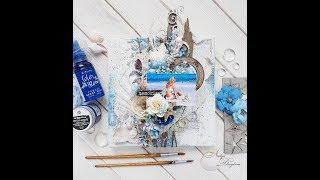 "Step-by-step tutorial ""Sea canvas"""