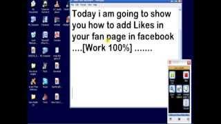 Autolike For Facebook Pages July 2013 [WORK 100%]