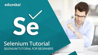 Selenium Tutorial For Beginners | What Is Selenium? | Selenium Automation Testing Tutorial | Edureka