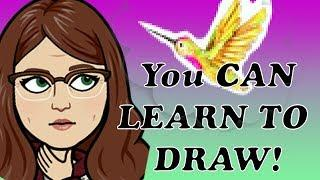 The Easiest Beginner How to Draw a Hummingbird Step by Step Tutorial