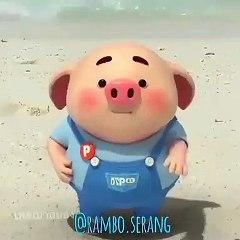 animated pig that can make funny laughs