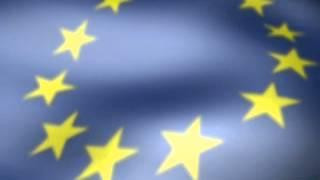 Flag Of Europe Screensaver And Anthem Of Europe