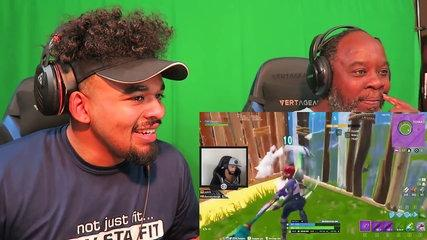 Dad Reacts to TSM Daequan Fortnite Funny Moments!