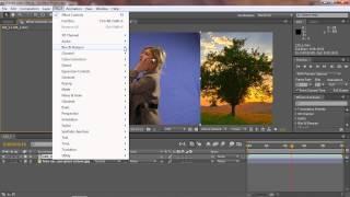 تعليم برنامج افتر افكت - الدرس 2 - إضافة المؤثرات HD