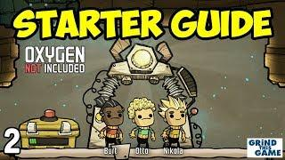Oxygen Not Included - Tutorial Guide (2018) #2 - Jobs, Food & Research