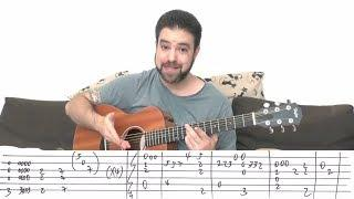 Fingerstyle Tutorial: Africa [Full Instrumental] - Guitar Lesson w/ TAB