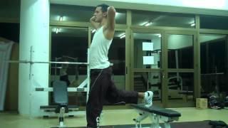 Paphos Personal Trainer - Bulgarian Split Squat