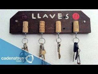 Cómo hacer un porta llaves / Tutorial para hacer un porta llaves