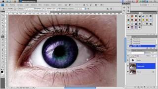 Tutorial Photoshop CS4 Italiano- Come Cambiare Il Colore Agli Occhi E Come Pulirli ( Photoshoppista)
