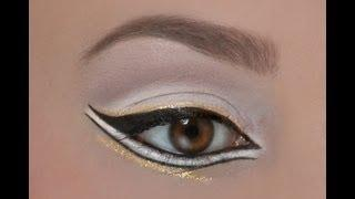 Make Up Tutorial Von Der MAF - Arabic Double Winged Eyeliner