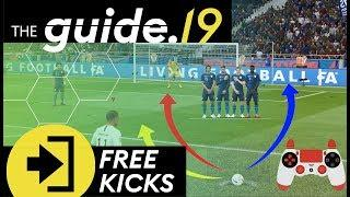 THE MOST EFFICIENT FREE KICK TECHNIQUE! | FIFA 19 Free Kick Tutorial | THE GUIDE