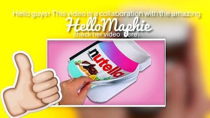 DIY | NUTELLA PHONE CHARGER Tutorial!