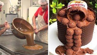 My Favorite Chocolate Cake Decorating Tutorial | Amazing Chocolate Cake Ways & More Recipes