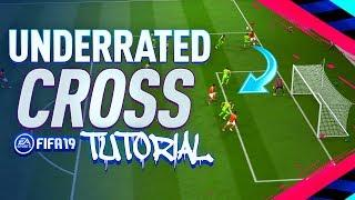 MOST UNDERRATED CROSS IN FIFA 19!! - Lob Cross Tutorial
