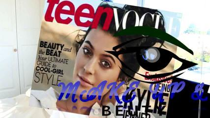 KYLIE JENNER TEENVOGUE COVER MAKEUP TUTORIAL 2015!!!
