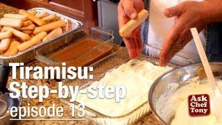 Tiramisu Recipe, Classic, Easy, Authentic - As Taught By An Italian!, How To Make It