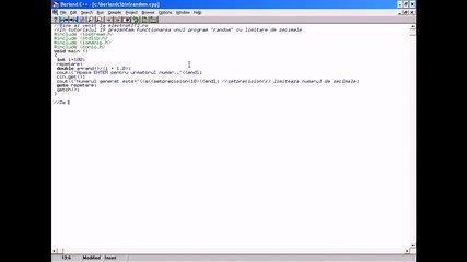 """C++ - Tutorial 19 - """"Random"""" cu limitare de zecimale - electroKITS.ro"""