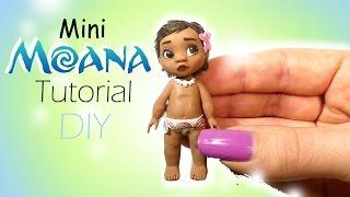 Disney's Moana Inspired Doll Tutorial // Miniature DIY