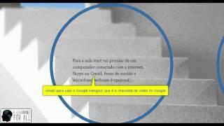 Tutorial E-learning For All Português- Como Aprender Um Idioma Online Com Aulas Ao Vivo