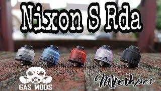 Gas Mods 22mm Nixon S Rda - Build & Wick Tutorial - Mike Vapes