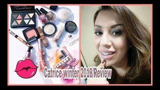 (Giveaway)Try on Tutorial-Testing New Catrice Winter 2018 products (Review & First Impressions)