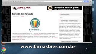 Tutorial - Como Deixar Seu BeerSmith Em Português - Versão MAC