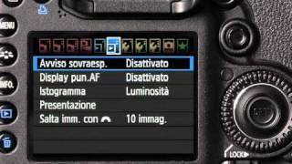 Corso Canon EOS: Impostare La Ripresa Video (tutorial) Italiano HD